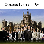 Colors Inspired By Downton Abbey