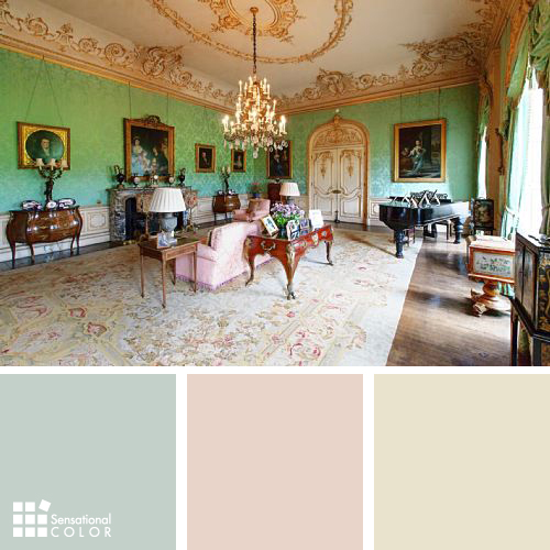Downton Abbey Drawing Room