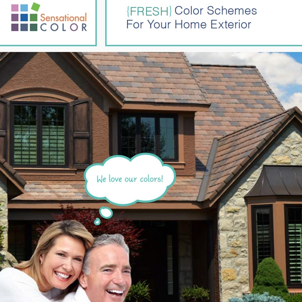 FRESH Color For Your Home Exterior Archives - Sensational Color