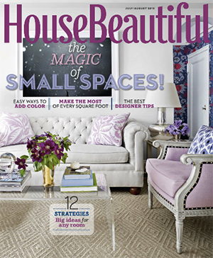 July/August House Beautiful Magazine Cover