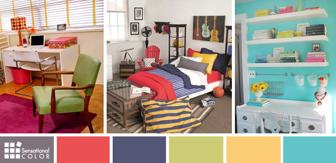 Color Your Dorm Room Beautiful