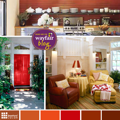 Apple Red Inspired Decor for Home Interiors & Exteriors