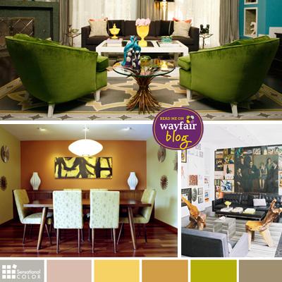 Retro Color Revival | Wayfair.com 'My Way Home' Blog