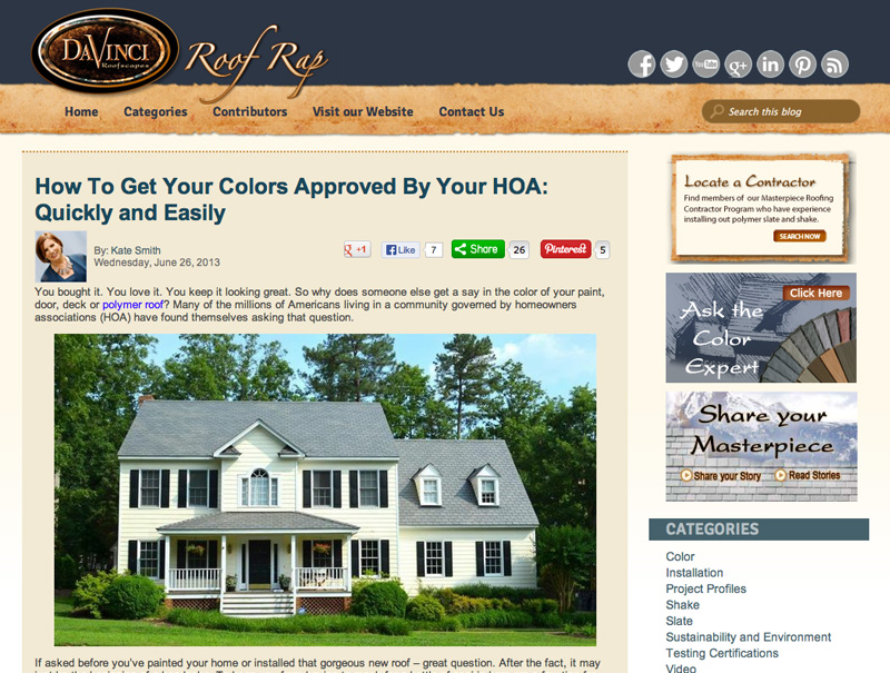 How to Get Your Colors Approved by Your HOA- Quickly and Easily