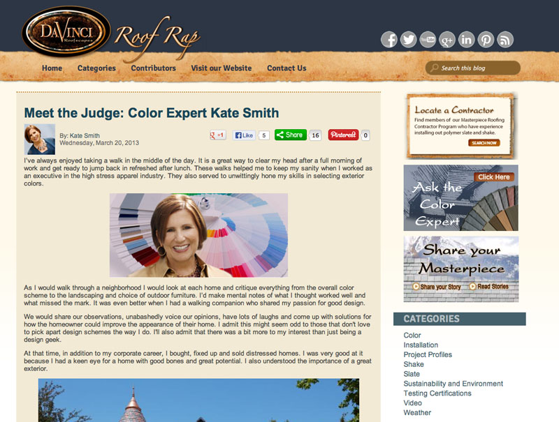 Meet the Judge- Color Expert Kate Smith