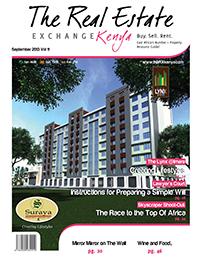 Kenya Real Estate Exchange Cover September 2013