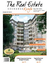 Kenya Real Estate Exchange Cover October 2013