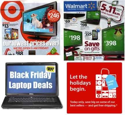 Black Friday Meaning Advertisements