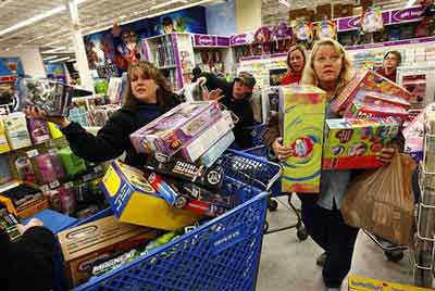 Black Friday at Toys R Us