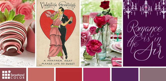 Valentines Day Trend Colors For A Romantic Dinner