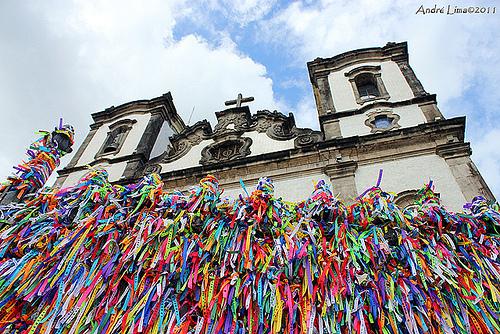 Bahia Bands at The Church of Senhor do Bonfim
