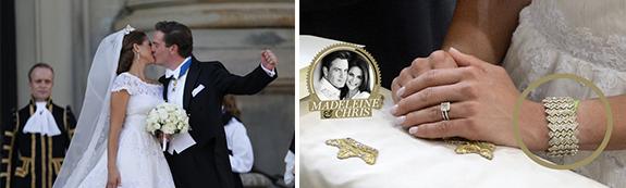 Princess Madeleine wears Bahia Band at her wedding