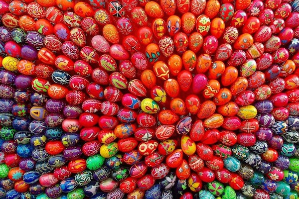 Easter Egg Colors Around The World | Sensational Color