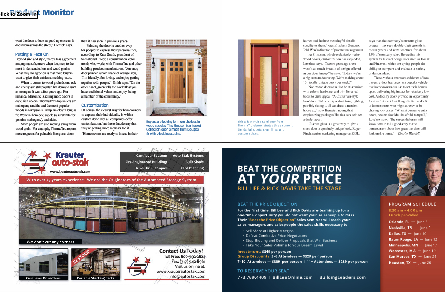 Story in Pro Sales magazine