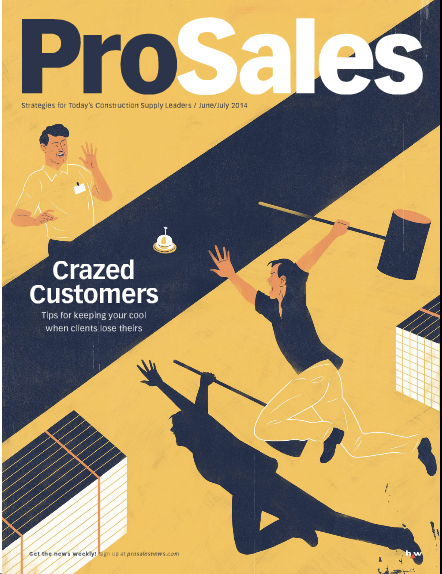 Cover of Pro Sales magazine