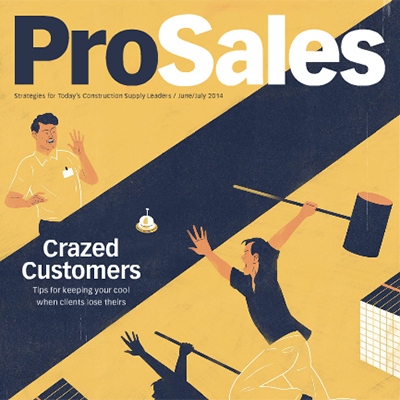 Pro Sales magazine cover