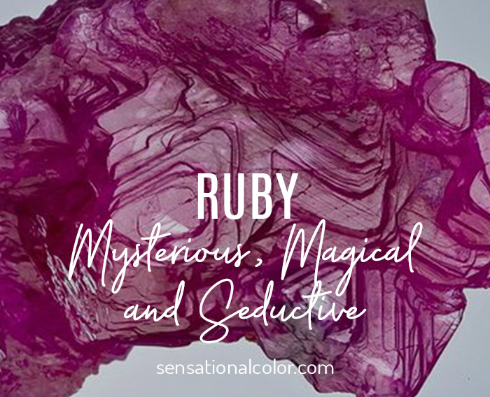 Ruby: Mysterious, Magical and Secuctive