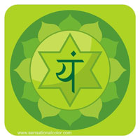 Color Of The Chakras Anahata Green