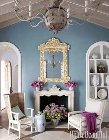 Spring Color Palette Living Room
