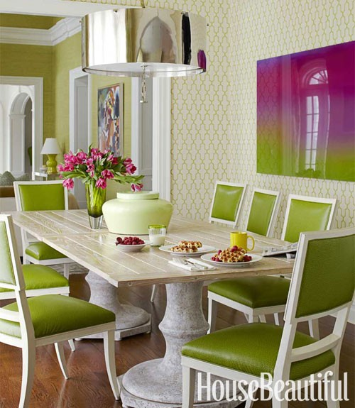 Spring color palette sensational color for Green dining room