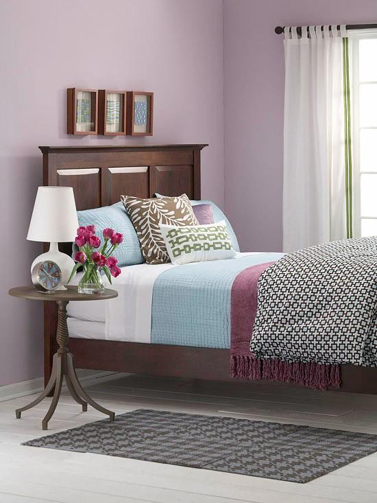 Spring Color Palette Bedroom