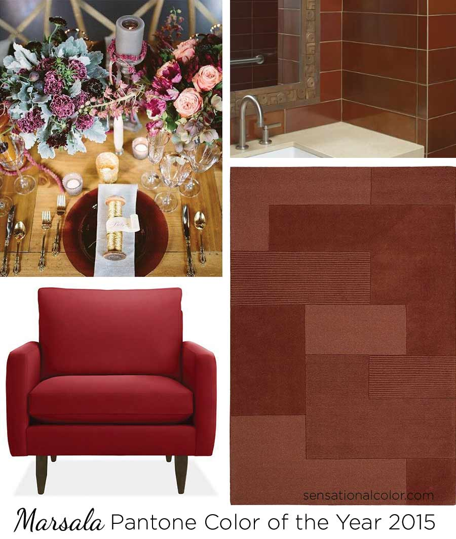 Pantone Color Of The Year 2015 Marsala - Sensational Color