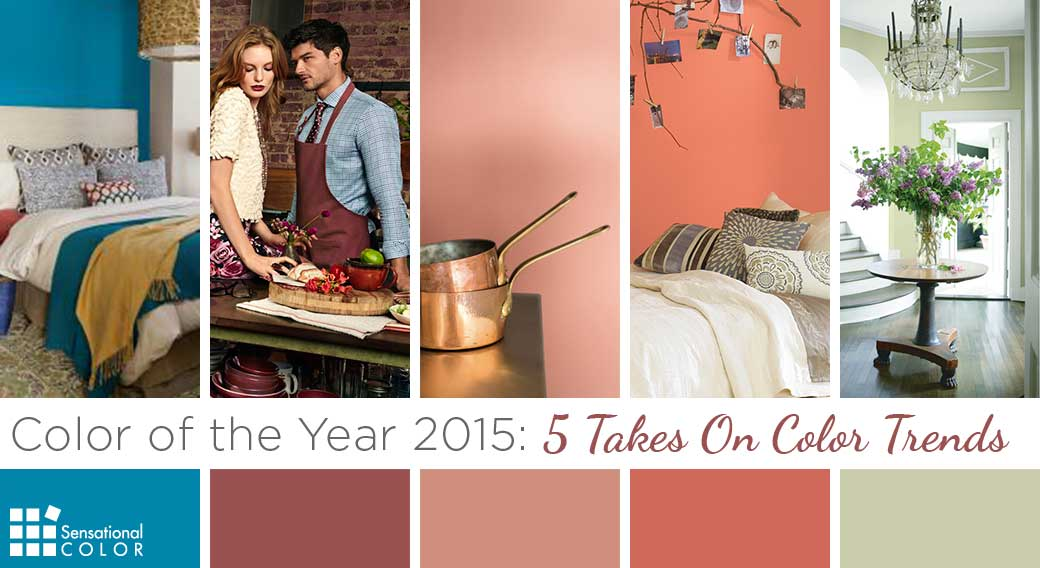 Color of the Year 2015 - 5 Takes On Color Trends