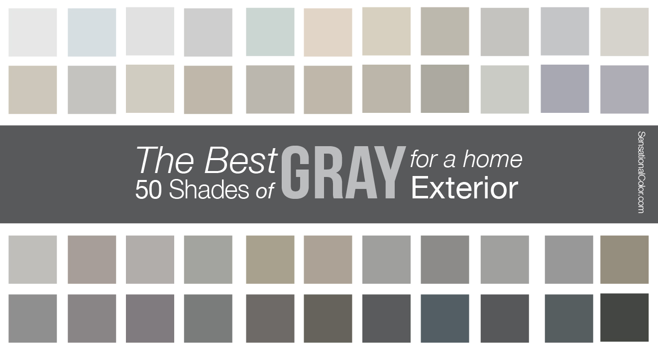 Gray Paint For A Home Exterior