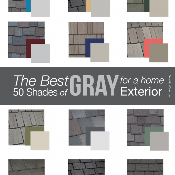 the best 50 shades of gray for a home exterior - Exterior House Colors