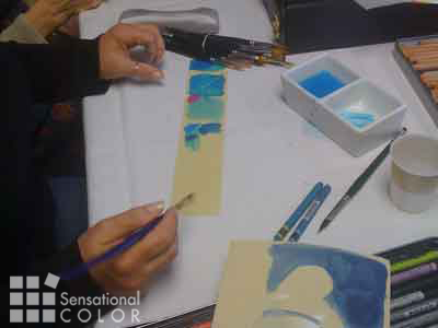 Learn to see colors - Bonnie Auten Demo