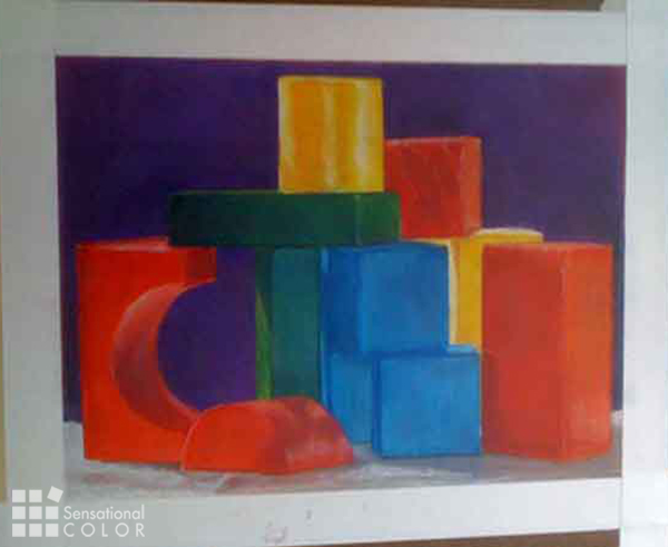 Learn to see colors - Kate Smith Colored Pencil Drawing