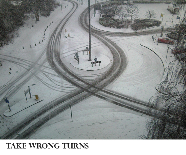 Make This Year Your Best Ever #1 Take Wrong Turns