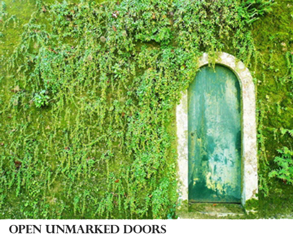 Make This Year Your Best Ever #3 Open Unmarked Doors