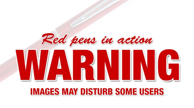 Red Pens Banned