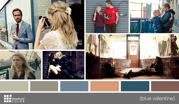Color Blue In Movies - Blue Valentine