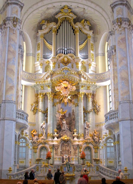 Dresden Restored Organ