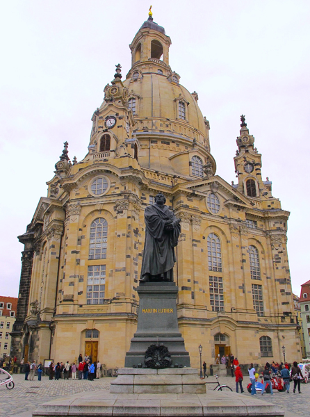 Dresden Restored Peace