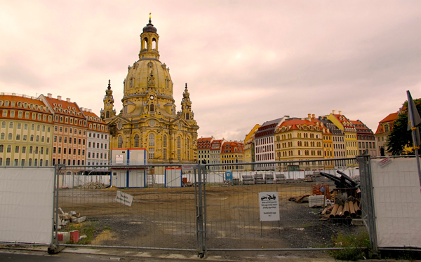Dresden Restored Square