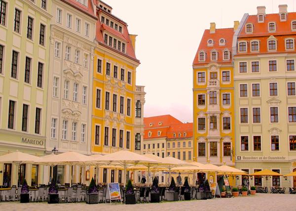 Dresden Restored Street
