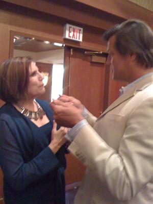 John Asseroff with Kate Smith