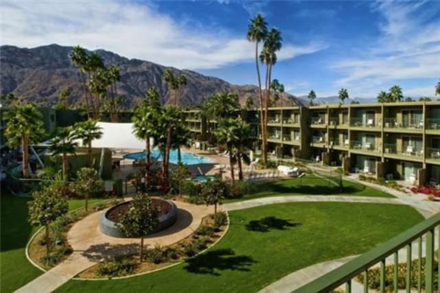 The Saguaro Palm Springs Before Remodel