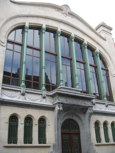 Vert de Gris Art Nouveau