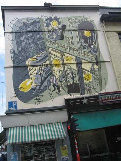 Vert de Gris Wall Mural