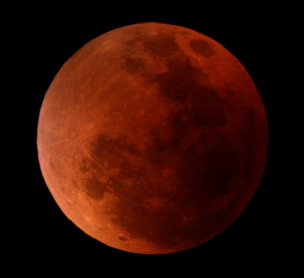 Colorful Total Lunar Eclipse