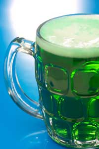St. Patrick's Day Traditions Green Beer