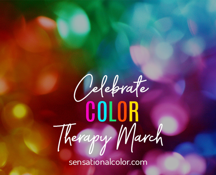 Celebrate Color Therapy Month