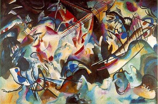 Bauhaus Color Vassily Kandinsky, 1913 - Composition 6