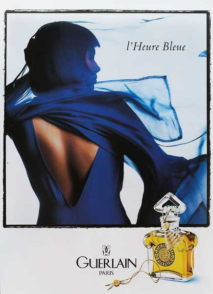 Guerlain Paris Blue Hour Advertisement
