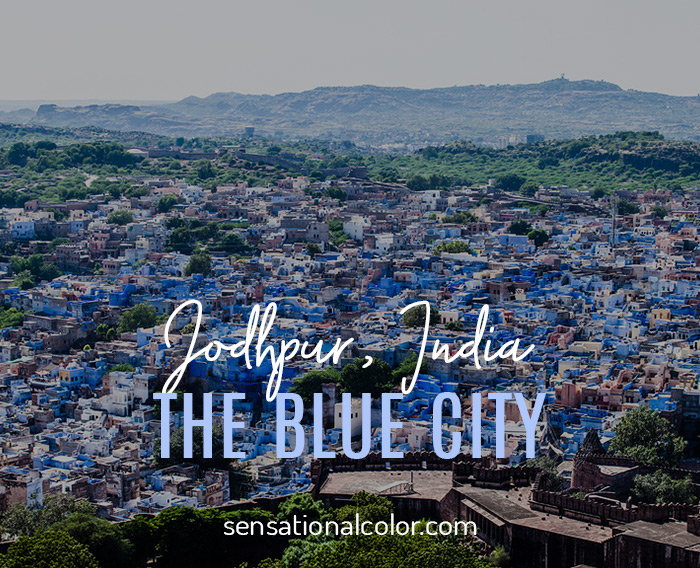 Blue City Jodhpur India