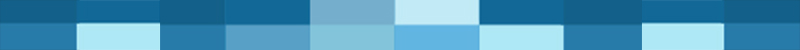 Origin Of The Word Blue Color illustrated by rectangles in different shades of blue